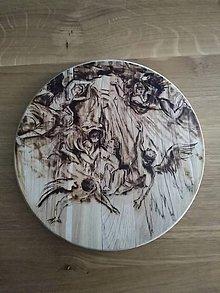 Dekorácie - Podložka z dreva. - 9793623_