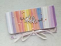 Papiernictvo - Svadobná obálka na peniaze - 9793746_