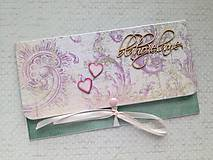 Papiernictvo - Svadobná obálka na peniaze - 9793749_