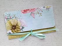 Papiernictvo - Obálka na peniaze - 9793871_