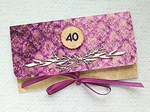 Papiernictvo - Obálka na peniaze - 9793768_