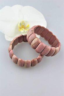 Náramky - rodonit náramok luxusný široký - 9794293_