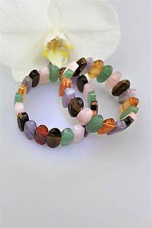 Náramky - letný náramok z drahých kameňov - 9794391_