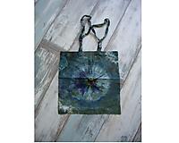Nákupné tašky - nákupná taška - batika - zelená - 9796045_