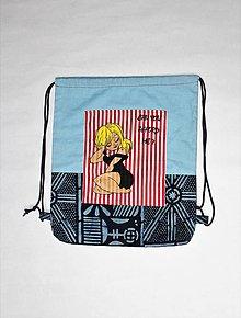 """Detské tašky - detský vak """"pre veľké slečny"""" - 9795367_"""