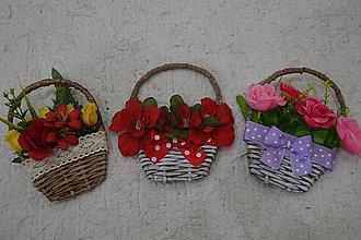 Dekorácie - minikošíčky - 9796001_