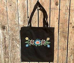 Nákupné tašky - Maľovaná taška - 9795630_