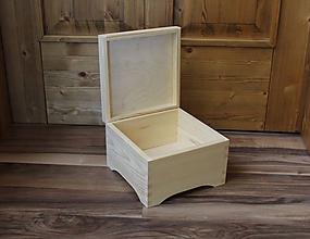 Polotovary - masívna retro krabica - 9795141_