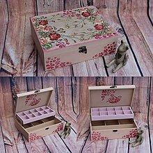 Krabičky - Šperkovnica... - 9795631_