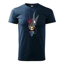 Tričká - Pánske tričko KAMZÍK - 9796032_