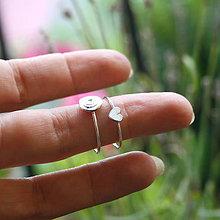 Prstene - Minimalistický srdiečkový - 9795743_