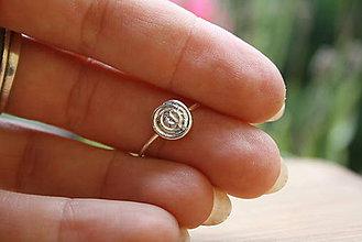 Prstene - Minimalistický špirálový - 9795757_