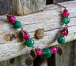 Náhrdelníky - Achátový náhrdelník - fresh - 9794910_