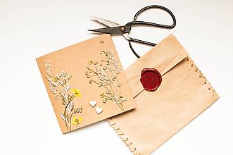 "Papiernictvo - Pohľadnica "" Natur With Love"" - 9792831_"