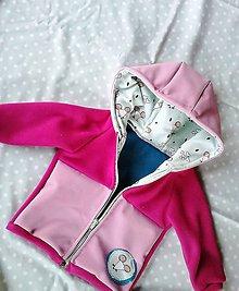 Detské oblečenie - Softshelovo-fleecová bundička - 9794569_