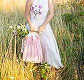Nákupné tašky - Ľanová taška - 9795849_