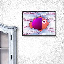 Grafika - Ukecaná ryba (digitálna grafika) 1 - 9793924_