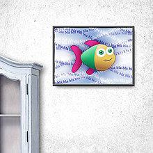 Grafika - Ukecaná ryba (digitálna grafika) 4 - 9794681_