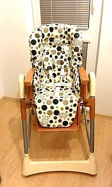 Úžitkový textil - Podložka do jedálenskej stoličky - 9796596_