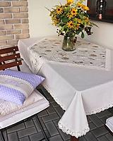 Úžitkový textil - obrus prírodný Paris dream - 9797412_