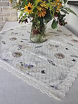 Úžitkový textil - obrus so vzorom Paris dream - 9797490_