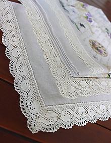 Úžitkový textil - obrus so vzorom Paris dream - 9797664_