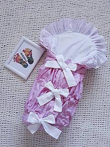 Textil - Perinka na želanie - Ružová - 9798182_