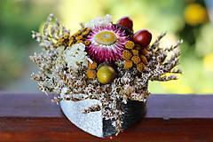 Dekorácie - Kvetinová krabička - 9796440_