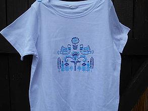 Detské oblečenie - dedinka milovaná..tričko maľované - 9797526_