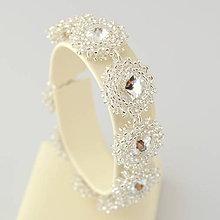 Náramky - Diamond ICE náramok (Ag925) (Silver L.Crystal) - 9797596_