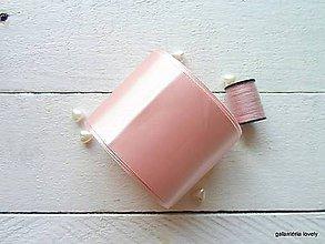 Galantéria - stuha saténová 5cm/výpredaj - 9796552_