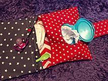 Detské doplnky - Plienkovník (obal na plienky) (Červená) - 9796716_