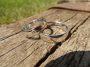 Prstene - Biele so zirkónikom - 9797267_