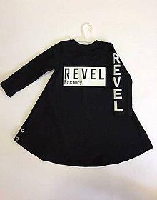 Detské oblečenie - Šaty dlhý rukáv - Revel - 9797691_
