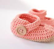 Topánočky - papučky/sandálky - 9796133_