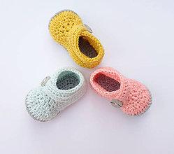 Topánočky - prvé papučky - 9796202_