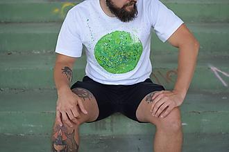 Tričká - Pánske tričko PLANET EARTH - 9797824_