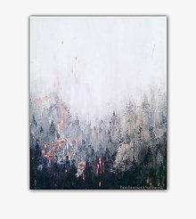 Obrazy - V hmle, 80x100 (na objednávku) - 9797108_