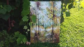 Obrazy - V lese-z etapy kraje a ich premena-Leto - 9796499_