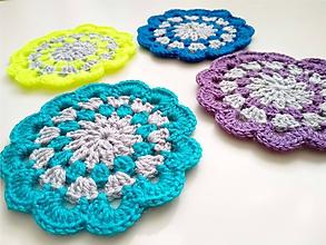 Úžitkový textil - Podložky 4FAREBNÉ - 9798266_