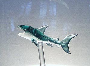 Nádoby - Karafa so žralokom - 9799847_
