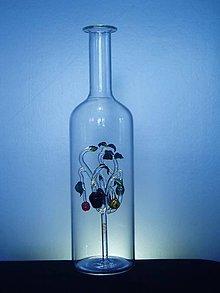 Nádoby - Fľaša so stromom života - 9799884_