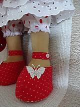 Bábiky - Bábika v červenom - 9799323_