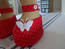 Bábiky - Bábika v červenom - 9799324_