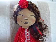 Bábiky - Bábika v červenom - 9799325_