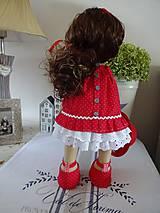 Bábiky - Bábika v červenom - 9799326_