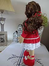 Bábiky - Bábika v červenom - 9799327_