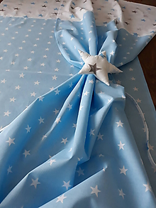 Úžitkový textil - Závesy ...jasná obloha - 9800287_