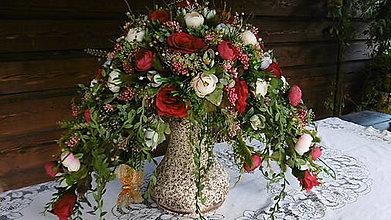 """Dekorácie - Vysoká """"baroková"""" dekorácia - 9801031_"""
