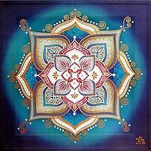 Obrazy - Mandala vitálnej energie a vôle - 9800088_